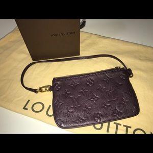 Authentic Louis Vuitton empreinte pochette bagette